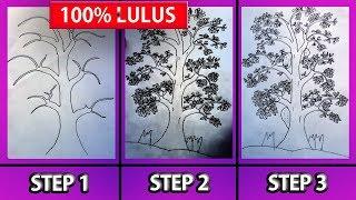Cara Cepat Gambar Pohon Psikotes Dijamin Lulus Tes Videos Kansas