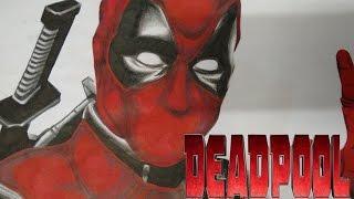 Speed Drawing: Deadpool - Deadpool The Movie!