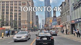 Driving Downtown - Toronto's Main Street - Toronto Canada