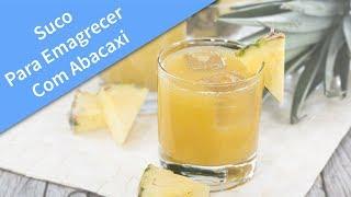 Suco Para Emagrecer Com Abacaxi - Veja Como Fazer Esse Suco De Abacaxi Com Limão E Gengibre