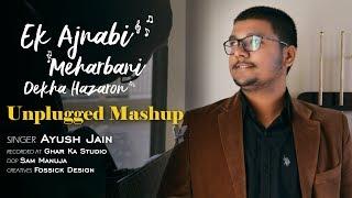 Ek Ajnabi+Raabta+Dekha hazaron dafa | Mashup | Unplugged (Cover) | Ayush Jain ft. Nishad Marathe