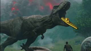 Jurassic Park Theme but its played on a Kazoo