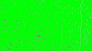 Rain on glass ,RAIN effect   green screen effect free