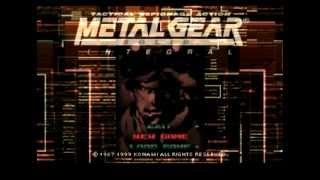 Metal Gear Solid Menu Theme