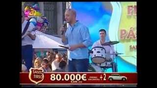 """BANDA ALMANOVA """"É milagre"""" em Stº Tirso na Feira da Pascoa 2015 - Contacto para Espetáculos"""