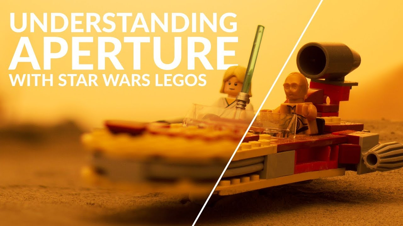 Learn About Aperture, ISO & Shutter Speed With Star Wars LEGO