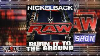 WWE Edit: Burn It To The Ground (Raw Theme) by Nickelback - DL with Custom Cove