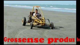 Grossense cria buggy em fundo de quintal e é sucesso na praia.