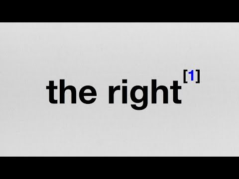 "Endnote 1: What I Mean When I Say ""The Right"""