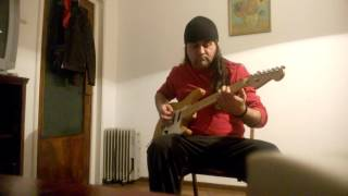 Whitesnake's Don't Break My Heart Again-Guitar solo (Juju's style)