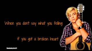 Ross Lynch - Not a love song lyrics (full song)