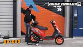 Gear Video: go-pod motorcycle and scooter rain cover