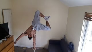 Sensei (Barsparta) Training One Arm Handstand