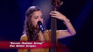 Sophia Tavares - Seven Nation Army | Provas Cegas The Voice Portugal 2016