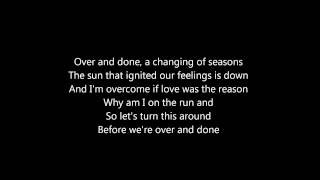 Amaranthe - Over And Done (Lyrics)