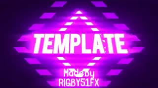Panzoid Red,Pink,Purple 2D Intro Template (sync)