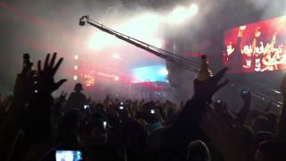 Swedish House Mafia - Save The World Knife Party Remix) LIVE AT MILTON KEYNES BOWL