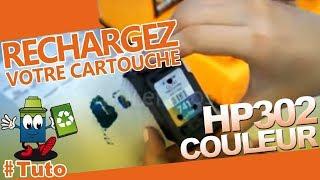 302 - Cartouche HP302 Couleur  : Comment Bien recharger la cartouche