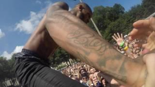 Lollapalooza 2016 Tory Lanez Crowd Surfs Diego