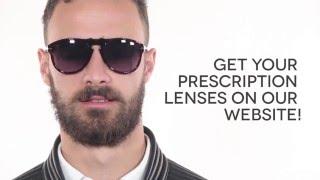 15163327a746 Persol PO0649 95/31 Sunglasses Black   VisionDirect Australia