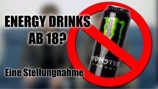 Energydrinks ab 18! Ein