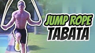 4 Minute Jump Rope Tabata Workout - Live Lean TV