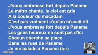 Claudio Capeo - Je vous embrasse fort (paroles)