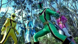 Power Ranger Mystic Force | Primera transformación en Power Ranger