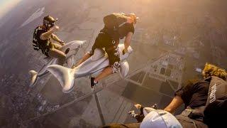 Jay Alvarrez - Skydiving