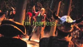 Fearless by Olivia Holt (Full Song) Lyrics~ From Girl vs. Monster