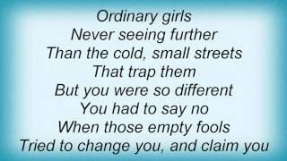 Morrissey - The Ordinary Boys Lyrics