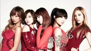 Dazzling Red (Nicole, Hyorin, Hyosung, Hyuna, Nana) - This Person @2012 SBS Gayo Daejun