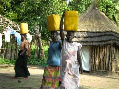Water Girls in the Village