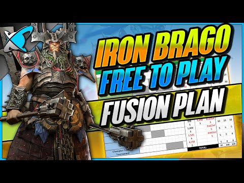 "Iron Brago ""FREE TO PLAY"" Fusion Plan | Calendar | Patch 3.20 Is Live !! | RAID: Shadow Legends"