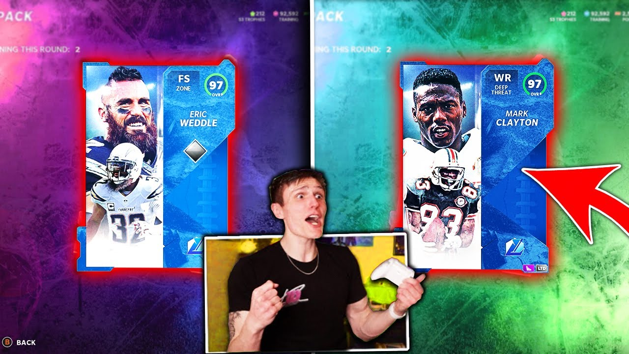 IT'S DOM - *INSANE* I got TWO Limited Pulls... Pack And Play - Madden 21 Ultimate Team