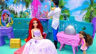 Disney Toys - The Little Mermaid Ariel's Royal Toy Cruise Ship - Melody Finds a Mermaid Friend