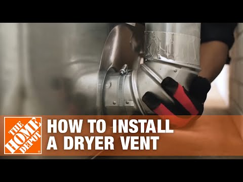 How To Install A Dryer Vent The Home