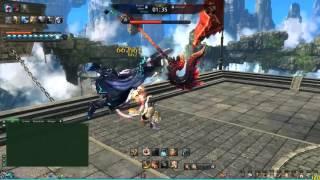 Blade & Soul : PvP Commentary #1 (KFM vs. Destroyer)