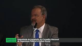 Governo instala Conselho Nacional de Segurança Pública e Defesa Social