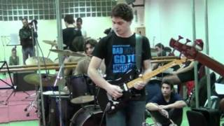 Comfortably numb (The Wall Live) Incredible! vintage sound and playing-solo's-cover