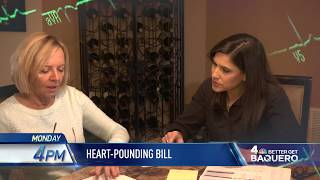 "News 4 New York: ""Better Get Baquero: Heart-Pounding Medical Bill"" promo"