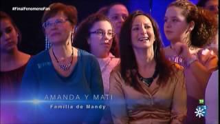 """Fenómeno Fan 2.17:: Mandy y María con """"Deja que te Bese"""""""