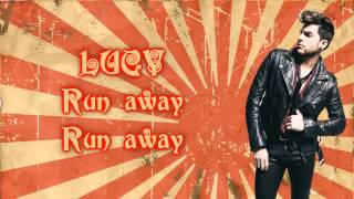 Adam Lambert - Lucy (feat. Brian May) (lyrics)