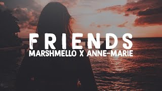 Marshmello - Friends [Bass Boosted] ft. Anne-Marie