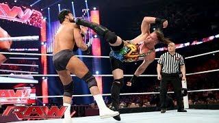 Rob Van Dam vs. Damien Sandow: Raw, April 7, 2014