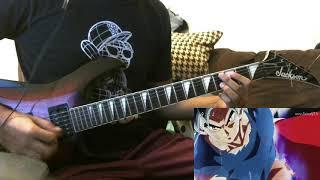 Goku vs Jiren Theme (guitar cover ) (ultra instinct)
