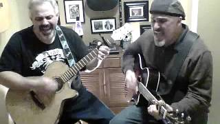 The Night Has A Thousand Eyes Bobby Vee cover by the Miller Brothers