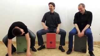 Modern Beats on Cajon /// DADDI BAHMANI´s Students (1)