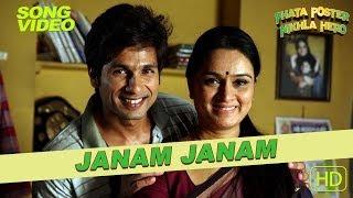 Janam Janam Official Video - Phata Poster Nikla Hero - Atif Aslam - Shahid & Padmini Kolhapure width=