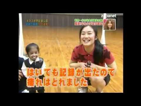 أقصر امرأة في العالم وجولة في اليابان مع كتاب غينيس